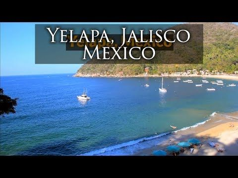 Yelapa, Jalisco, Mexico: where the waters come together