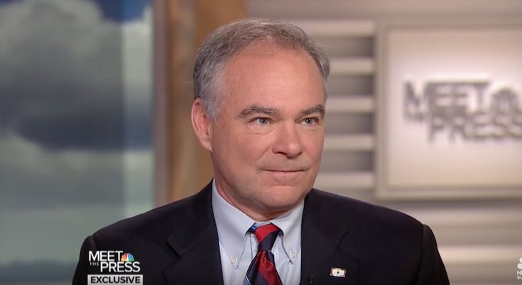 Democrat Loser Tim Kaine: Fight Against Trump in Congress, the Streets, Online & the Ballot Box