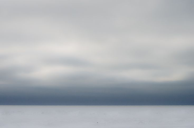 icy shores of Lake Huron  helping to prove my hypothesis that the great lakes are terrifying