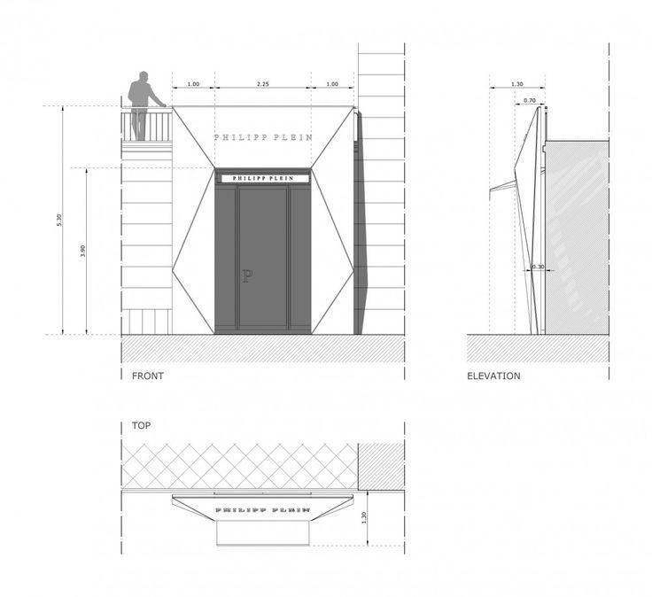 Philipp Plein Store / AquiliAlberg