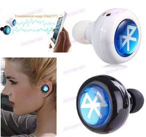 Tiny Wireless Bluetooth Stereo Headset Earbuds Headphone For Iphone Htc Nokia Jd