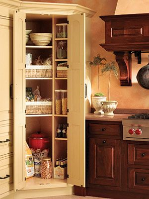 17 Best Images About Corner Pantry Cabinets On Pinterest Kitchen Pantry Cabinets Shelves And