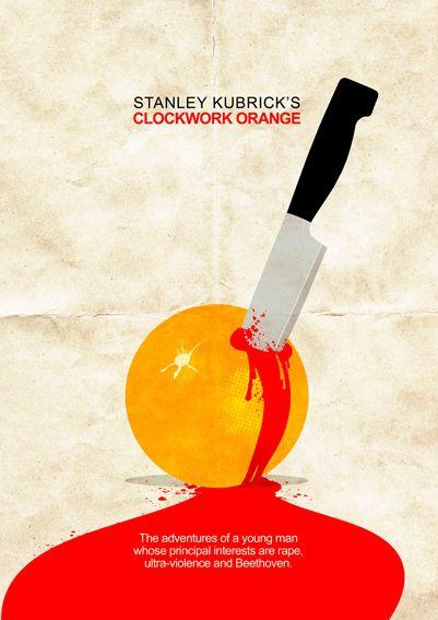 Clockwork orange - Alternative movie poster on Behance
