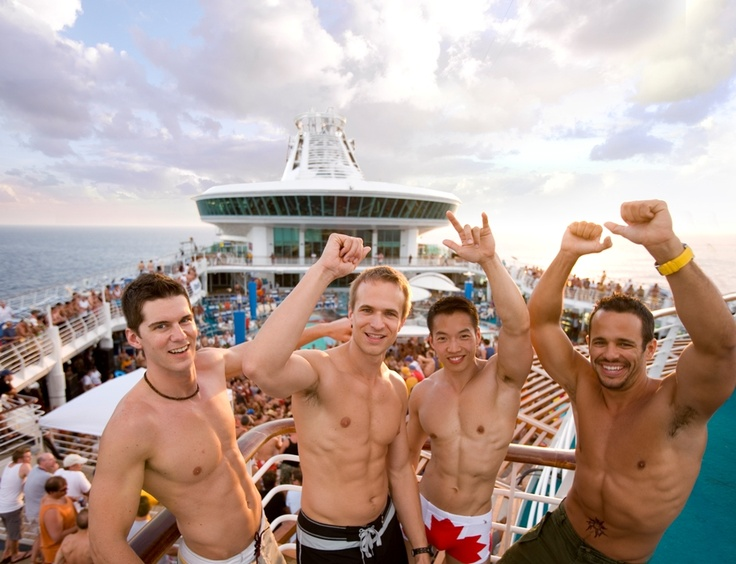 Atlantis gay cruise!  Sometimes it's all about the scenery.