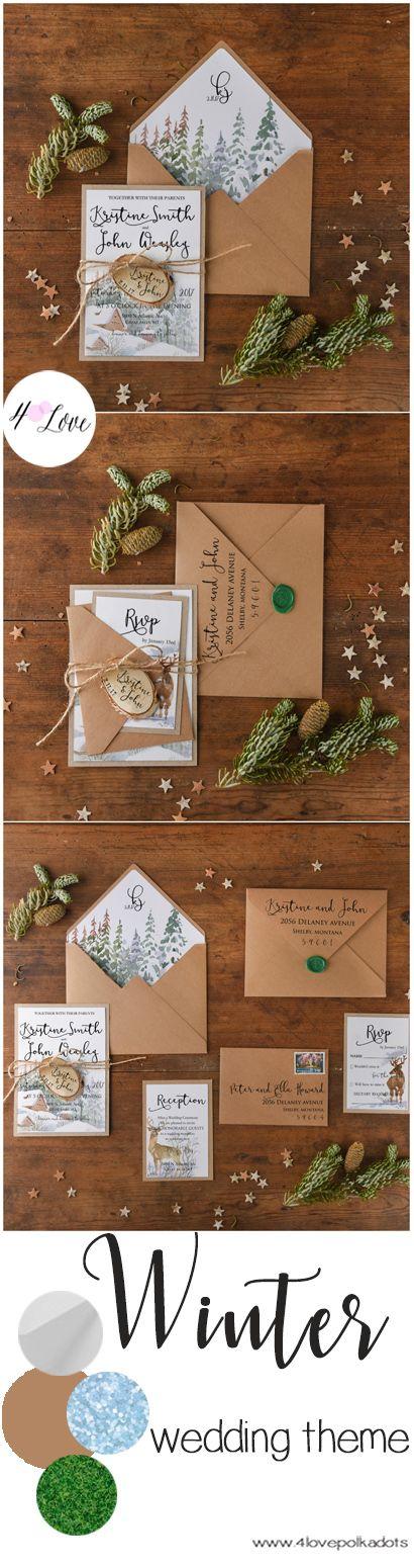 Winter wedding inspiration #winter #weddingideas