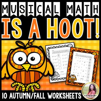 "These vibrant PDF owl-themed sheets take musical math to a whole new level! Addition, subtraction, multiplication, and fill-in-the-blank-with-a-number-or-note sheets are sure to make a ""positive"" impact on your students, ""subtract"" their doubt about note values, and ""multiply"" their confidence!"