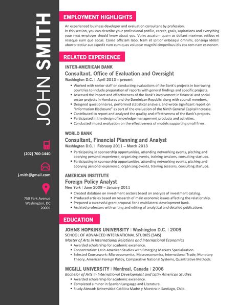 7 best Office Resume Template images on Pinterest Creative - artsy resume templates