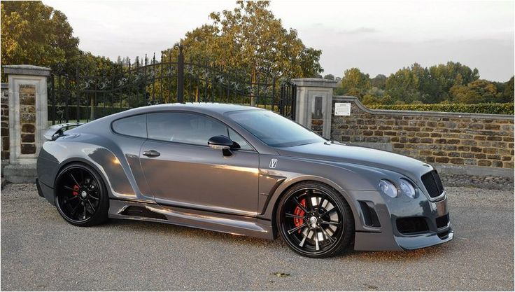 CUSTOM BENTLEY COUPE GT Premier 4509 Wide Body Kit VAD WHEELS 645BHP