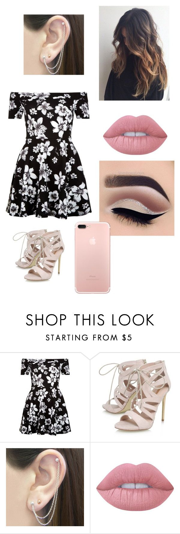 """Untitled #243"" by sports-00 ❤ liked on Polyvore featuring New Look, Carvela, Otis Jaxon and Lime Crime"