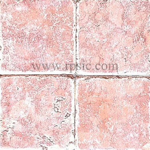 Rosso Verona Marble Tile 4x4 Tumbled Variations Of Our