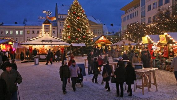 BERLIN Weihnachtsmarkt in der Altstadt Spandau
