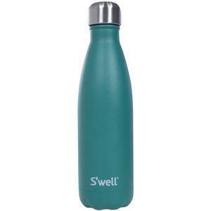 Para mantenerme hidratada siempre empaco una botella de agua de acero inoxidable como esta de S'well para estar tomando agua fría.