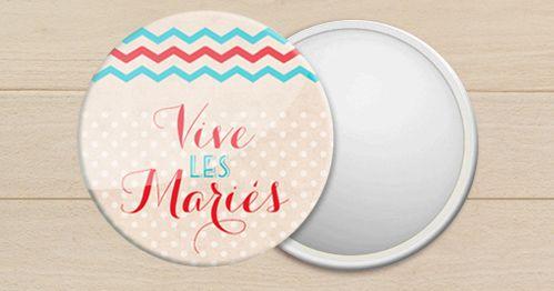 creation de miroir de poche personnalis pour mariage anniversaire bapteme t moin r tro my. Black Bedroom Furniture Sets. Home Design Ideas