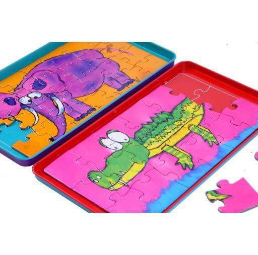 klocki, układanki, magnesy The Purple Cow