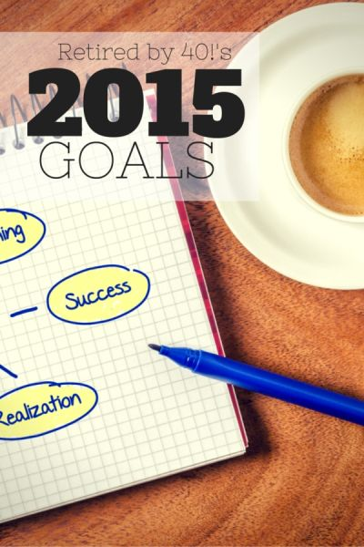 2014 brought highs and lows.  Our 2015 goals are based on learning from both our successes and failures!
