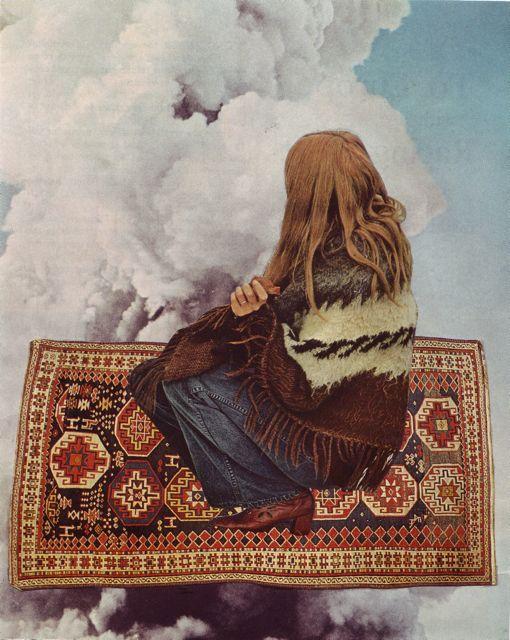 Beth Hoeckel___MAGICK CARPET    http://undercoversbetweensheets.tumblr.com/
