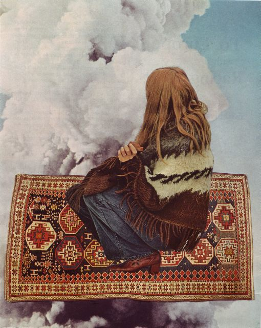 bethhoeckel.comBeth Hoeckel, The Thinker, Magic Carpets, Alpacas, Fashion Blog, Art Collage, Deep Blue Sea, Mixed Media Collage, Magiccarpet