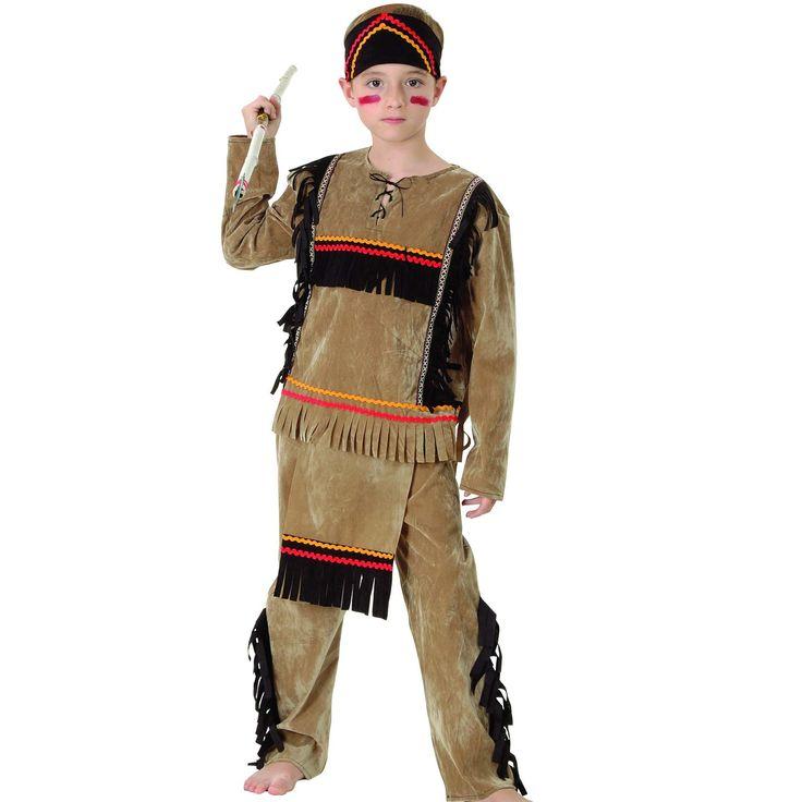 Indianer gutt