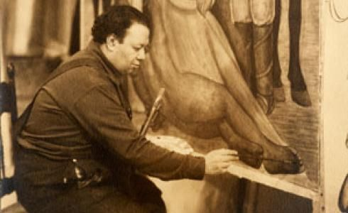 diego rivera painting desert - Google Search