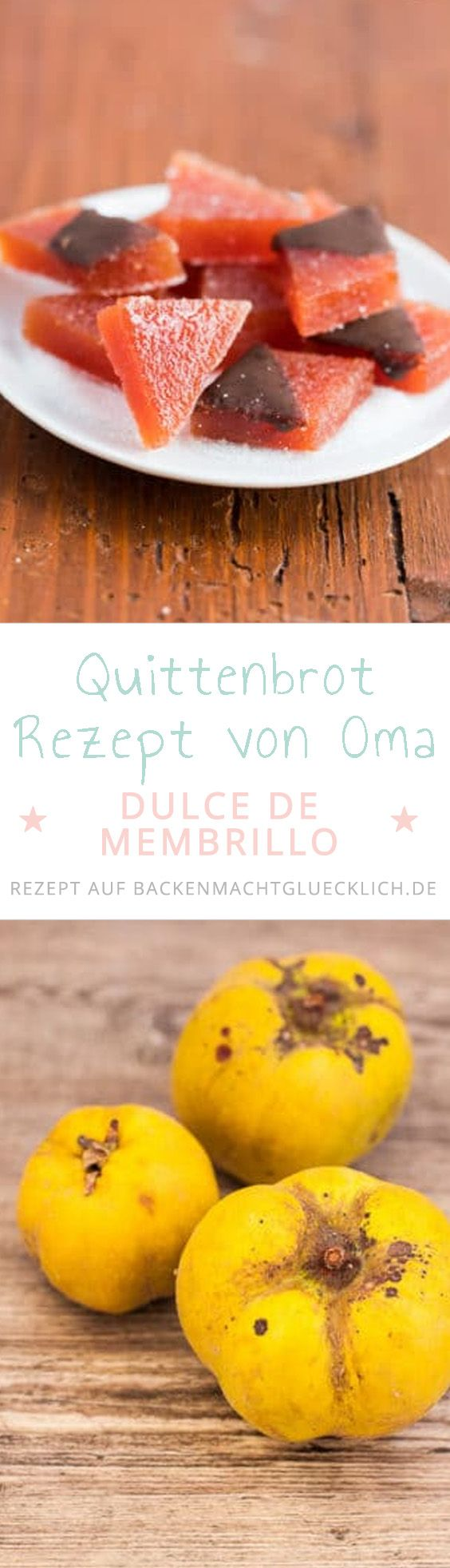"""Quittenbrot, im Original """"Dulce de membrillo"""", hat nichts mit Brot zu tun, sondern ist eher Quittenkonfekt. Das Quittenbrot braucht zwar etwas Zeit, ist aber einfach zu machen. Und lohnt sich!"""