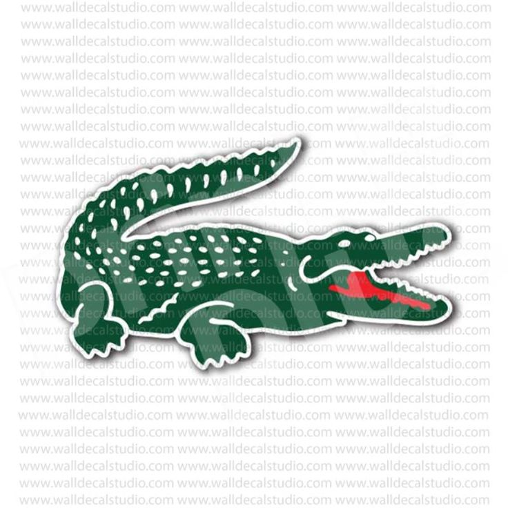 Gator Girl Wallpapers Lacoste Crocodile Clothing Brand Sticker Brand Stickers