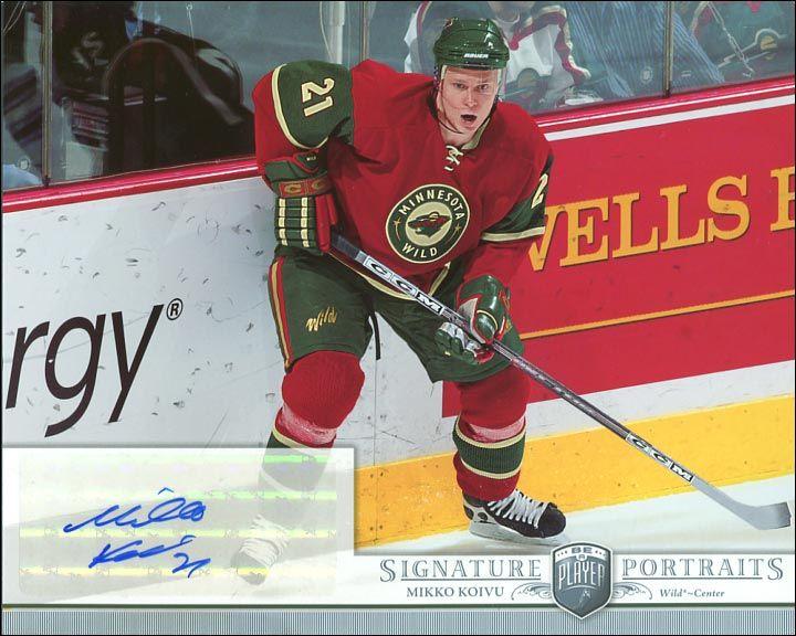 mikko koivu hockey cards   Mikko Koivu