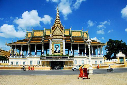 Royal Palace Phnom Penh, Cambodja
