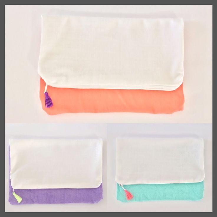 Bolsas de mano (Fold over clutch)