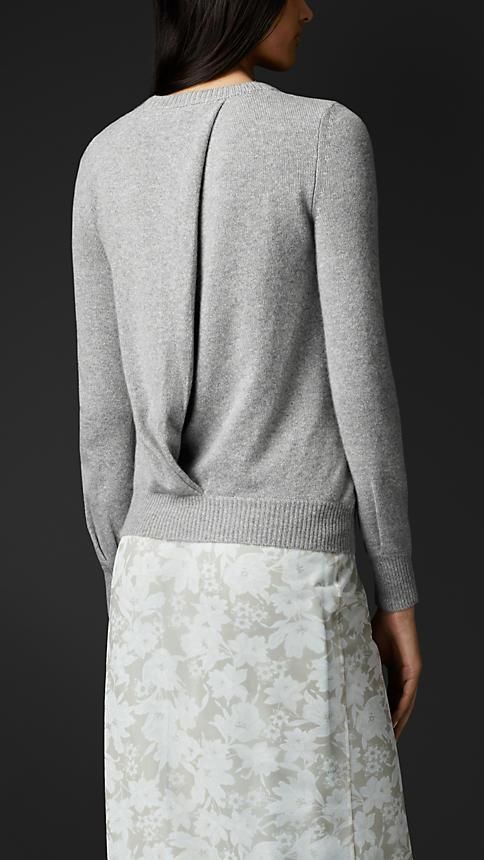 Burberry Prorsum Twist Detail Sweater, obsessed with how comfy the sweater looks