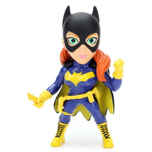 Batman Batgirl 4-Inch Metals Die-Cast Action Figure - Jada Toys - Batman - Action Figures at Entertainment Earth