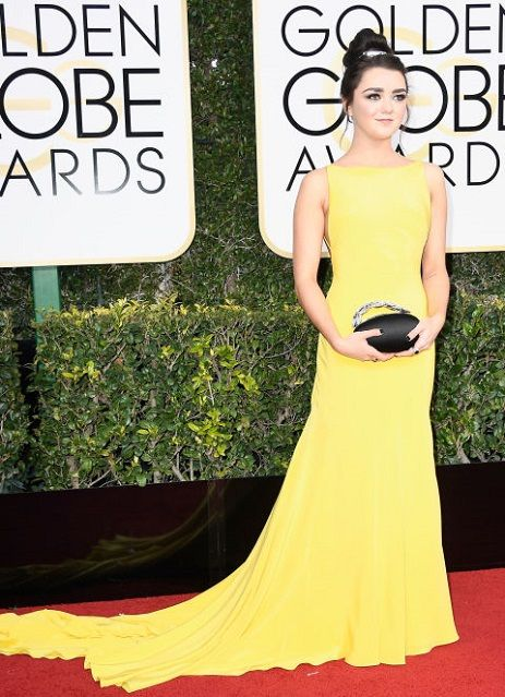 Maisie Williams ai Golden Globe Awards 2017http://www.theauburngirl.com/best-dressed-of-the-weeks-golden-globes/