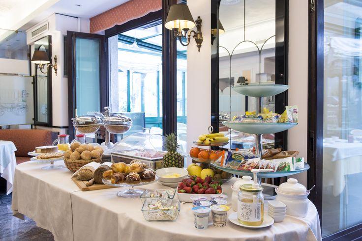 Buffet breakfast at Hotel Posta  www.hotel-posta.it