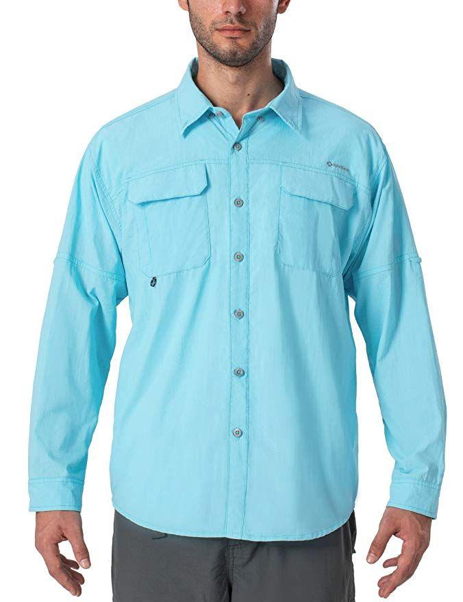 Naviskin Men S Upf 50 Sun Protection Outdoor Long Sleeve Shirt