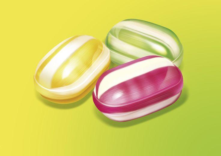 bonbon candy - illustration patrickclouet.com