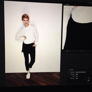 #SneekPeek at #Maurieandeve W14 collection... xx