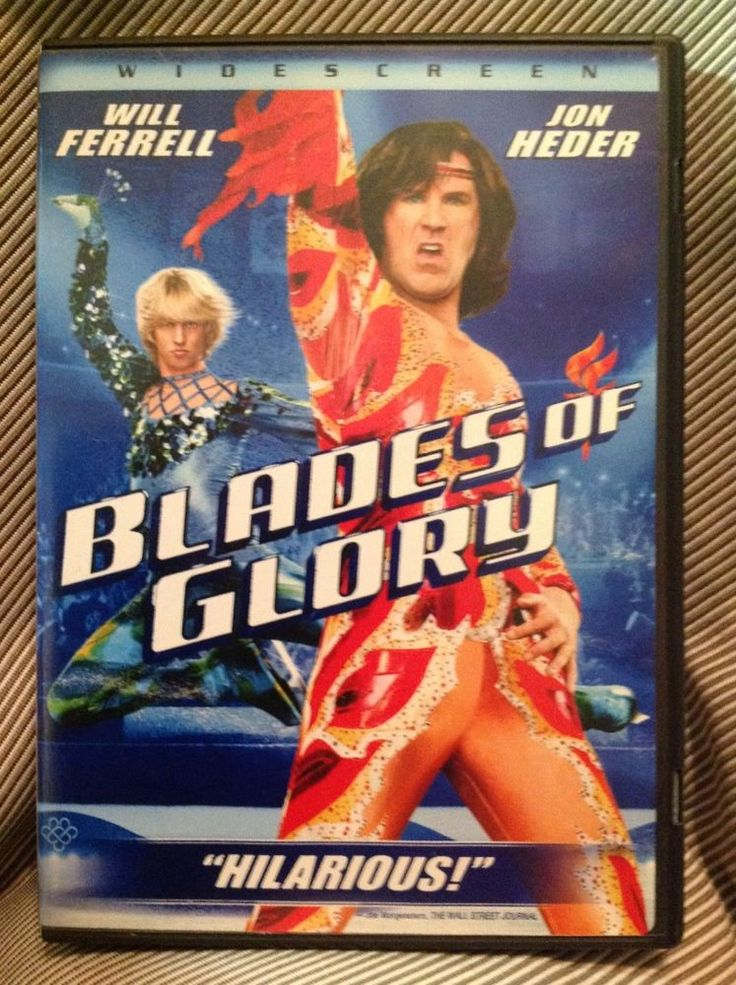 Blades of Glory DVD, 2007, Widescreen Movie Starring Will Farrell, Jon Heder