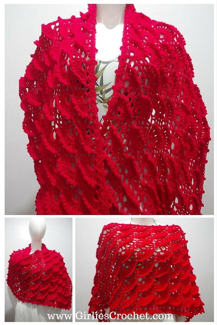 Free Crochet Pattern: Glenda Wrap