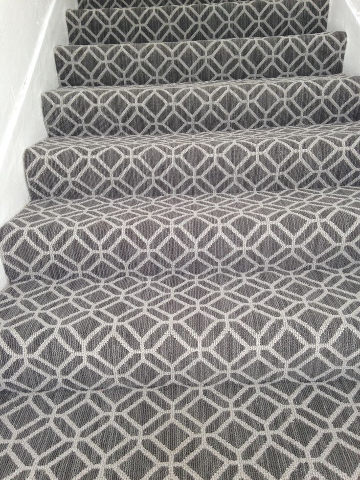 Casablanca carpet on the stairs. Tuftex Carpets of California