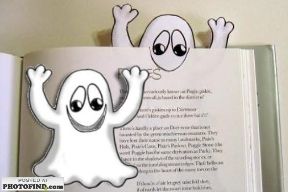 Spookje boekenlegger