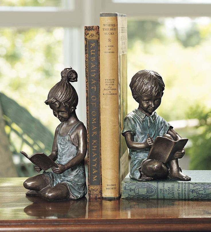 Reading Children Bookends