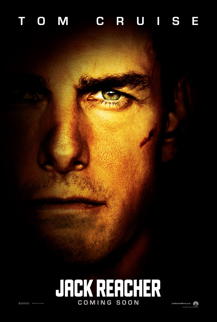 Here's A Glimpse Of Tom Cruise As Jack Reacher In The New International  #jackreachermovie Poster