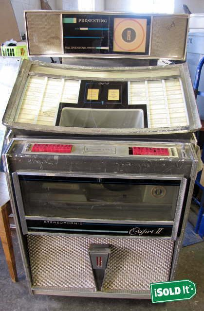 eBay #Sponsored VINTAGE ROCK-OLA 4145 COIN OPERATED JUKEBOX