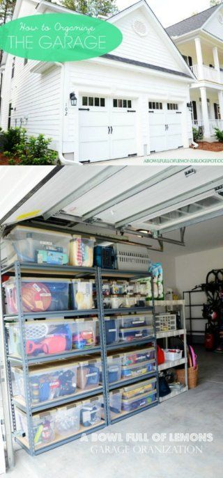Hanging, Boxing and Sorting - 49 Brilliant Garage Organization Tips, Ideas and DIY Projects