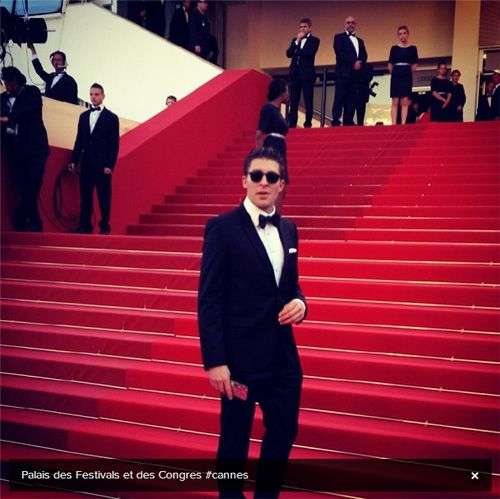 During the off-season, apparently Joffrey Lupul is a movie star.