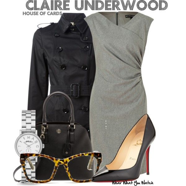 Inspired by Robin Wright as Claire Underwood on House of Cards.