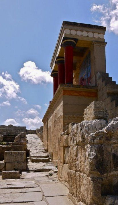 Knossos is the largest Bronze Age archaeological site on Crete and considered as Europe's oldest city // by Riccardo Campaci via Flickr http://en.wikipedia.org/wiki/Knossos