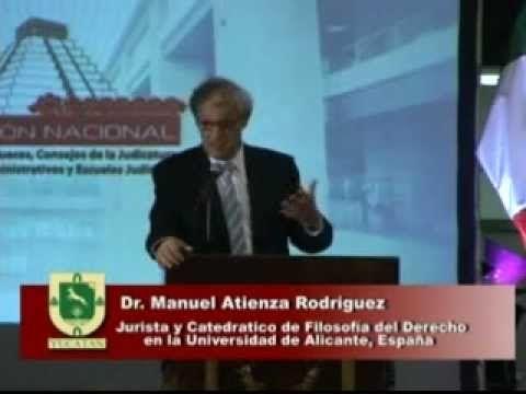 Conferencia Magistral - Como Argumentar frente a un caso difícil - Dr. Manuel Atienza.