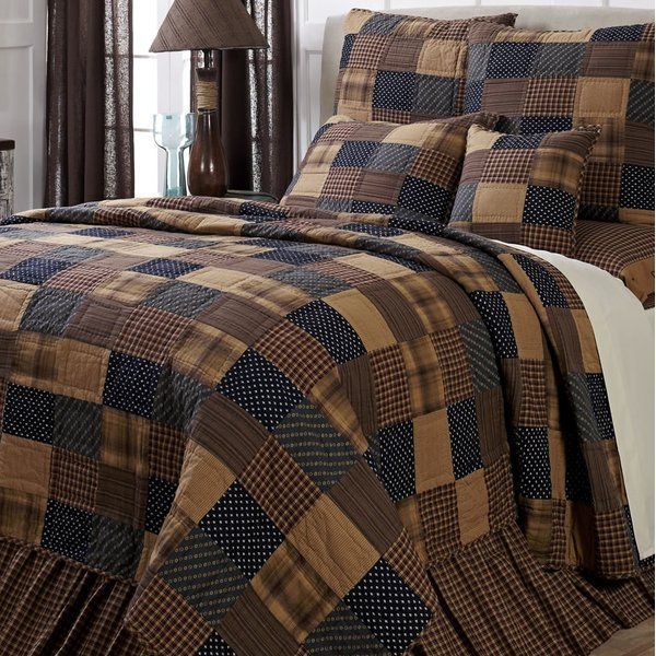 Chorley Single Reversible Quilt Country Bedroom Decor Reversible Quilt Primitive Bedroom
