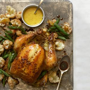 Indonesian-style Roast Chicken ... lemongrass, macadamia nuts, coconut milk and more ...