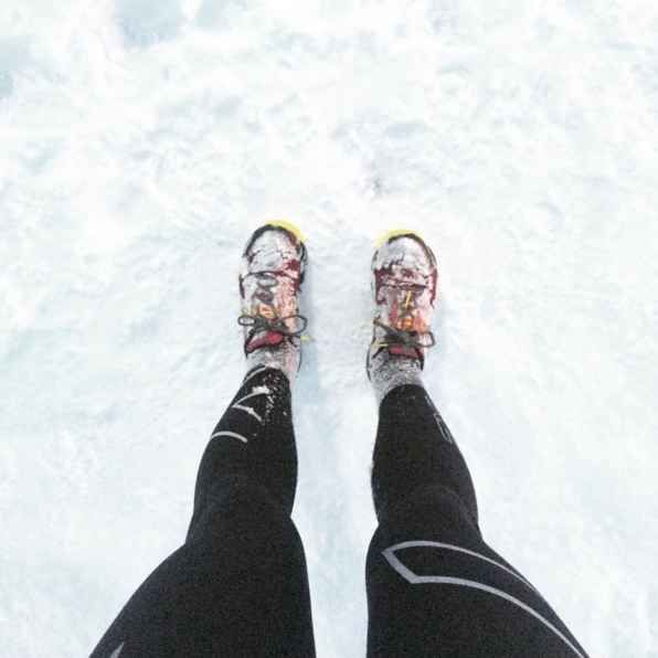 Buy a great pair of cold-weather running tights.